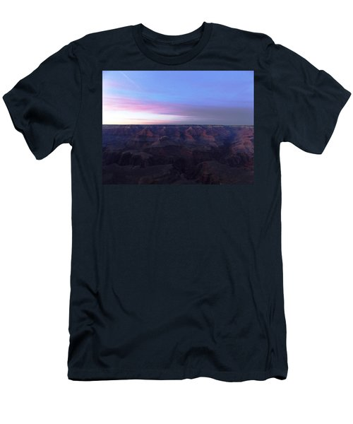 Pastel Sunset Over Grand Canyon Men's T-Shirt (Athletic Fit)