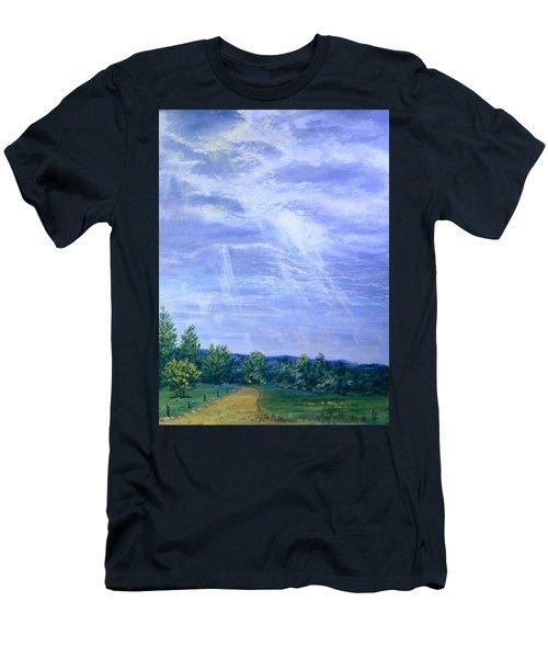 Pasture Lane Men's T-Shirt (Athletic Fit)