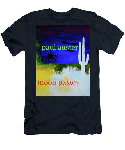 Paul Auster Poster Moon Palace Men's T-Shirt (Athletic Fit)