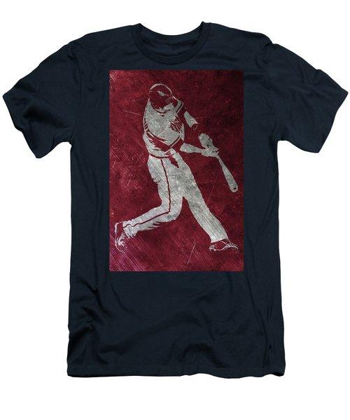 Paul Goldschmidt Arizona Diamondbacks Art Men's T-Shirt (Slim Fit) by Joe Hamilton