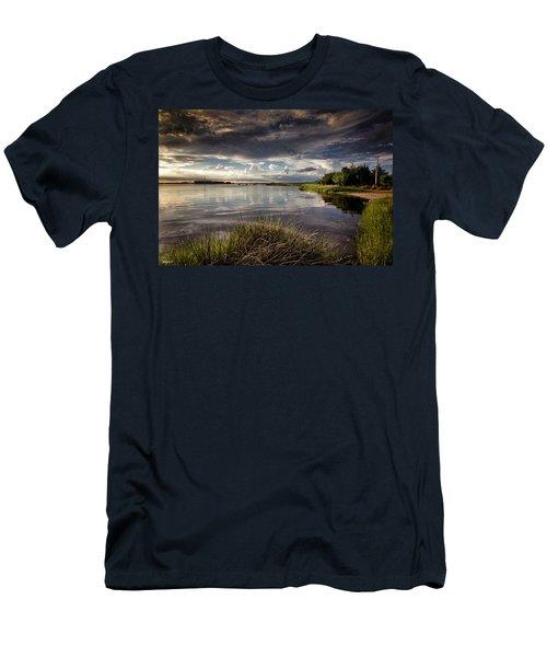 Peace Along The Cape Fear Men's T-Shirt (Slim Fit) by Phil Mancuso