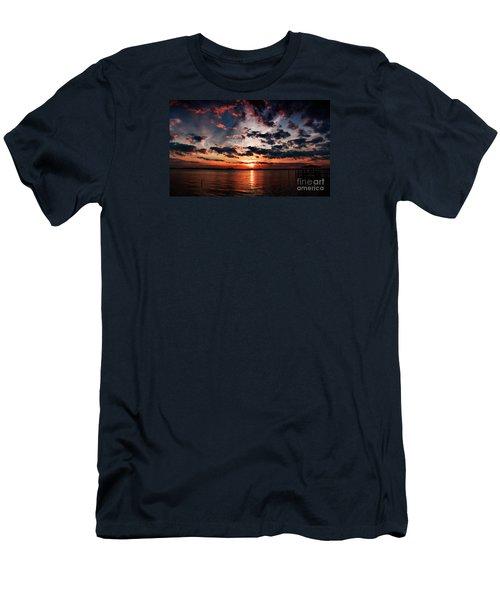 Peace Along The River Men's T-Shirt (Athletic Fit)