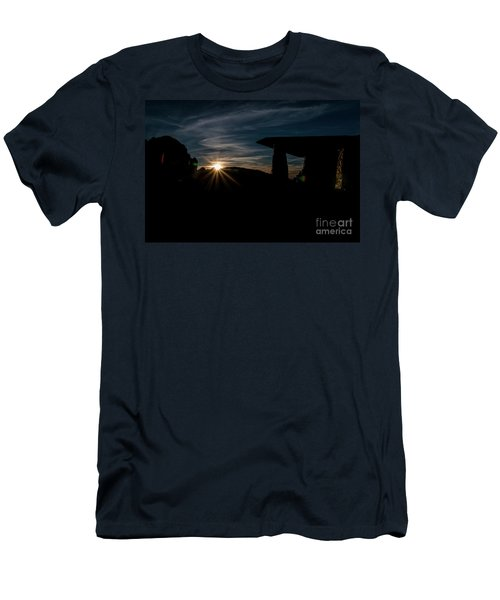 Peaceful Moment II Men's T-Shirt (Athletic Fit)