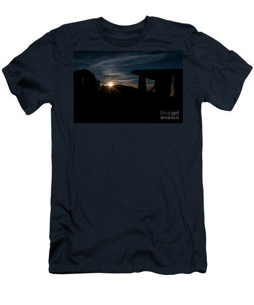Peaceful Moment II Men's T-Shirt (Slim Fit)
