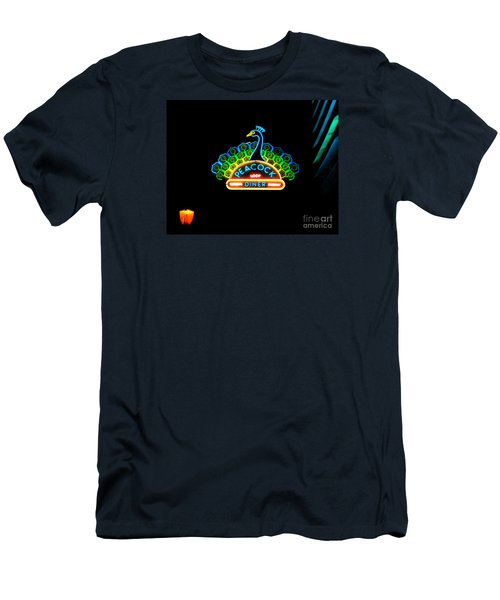 Peacock Diner In The Loop Men's T-Shirt (Athletic Fit)