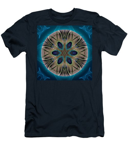Peacock Power Men's T-Shirt (Athletic Fit)