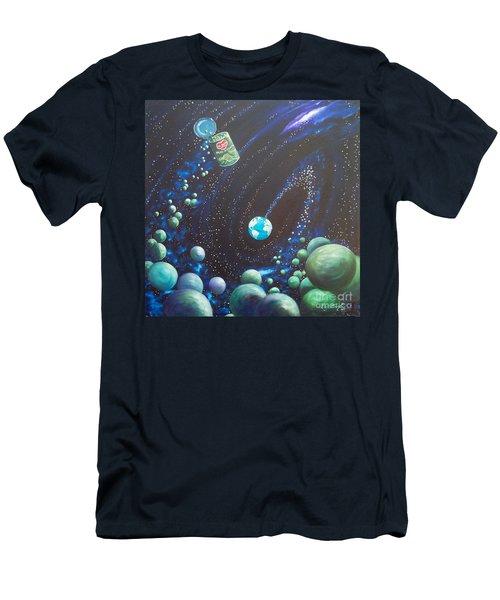 Blaa Kattproduksjoner       Peas On Earth Men's T-Shirt (Athletic Fit)
