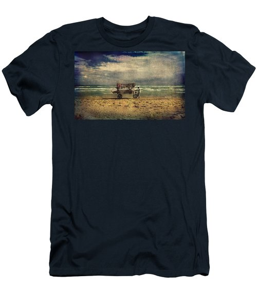 Peddler Men's T-Shirt (Slim Fit) by Vittorio Chiampan