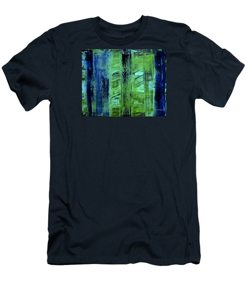 Peeking Through The Blinds Men's T-Shirt (Athletic Fit)