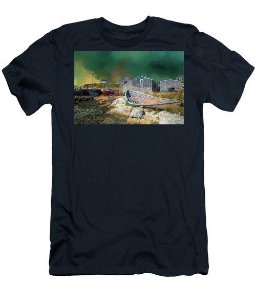 Peggy's Cove Men's T-Shirt (Athletic Fit)