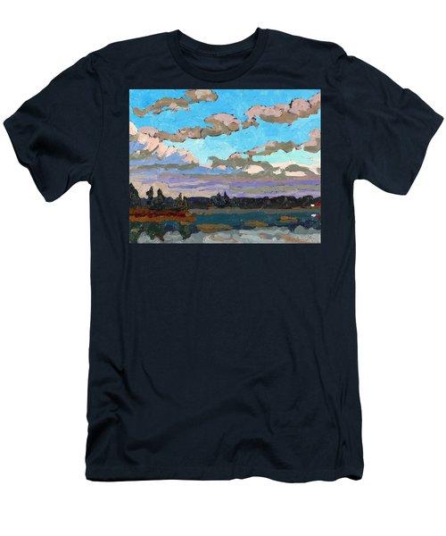 Pensive Clouds Men's T-Shirt (Athletic Fit)