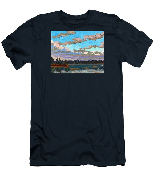 Pensive Clouds Men's T-Shirt (Athletic Fit)
