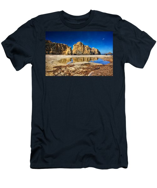 Men's T-Shirt (Slim Fit) featuring the photograph Pheiffer Beach - Keyhole Rock #16 - Big Sur, Ca by Jennifer Rondinelli Reilly - Fine Art Photography