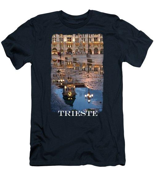 Piazza Unita In Trieste Men's T-Shirt (Athletic Fit)