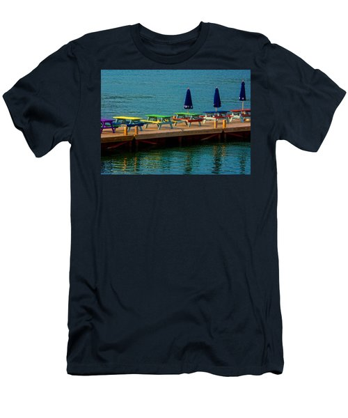 Picnic On The Water Men's T-Shirt (Athletic Fit)
