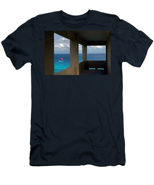Picture Windows Men's T-Shirt (Athletic Fit)