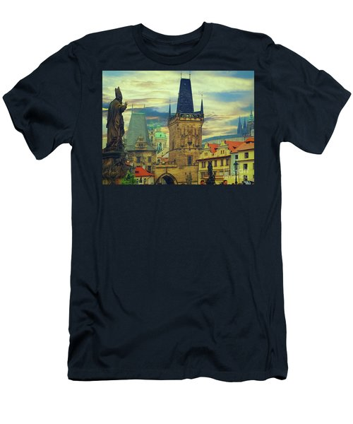 Picturesque - Prague Men's T-Shirt (Athletic Fit)