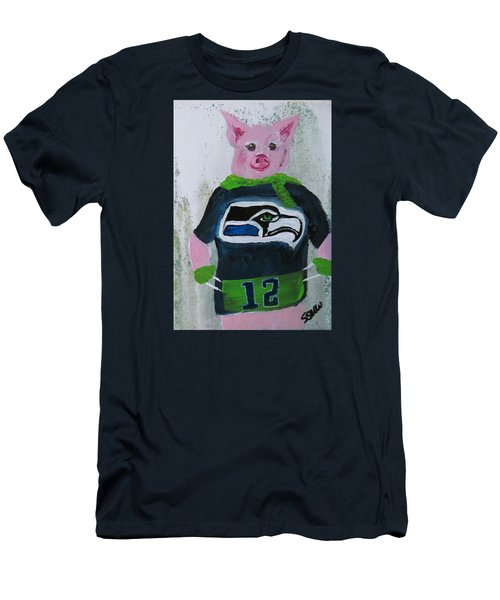 Piglets Day Out Men's T-Shirt (Athletic Fit)