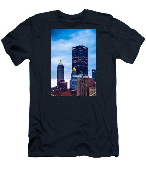 Pittsburgh - 7012 Men's T-Shirt (Slim Fit) by G L Sarti