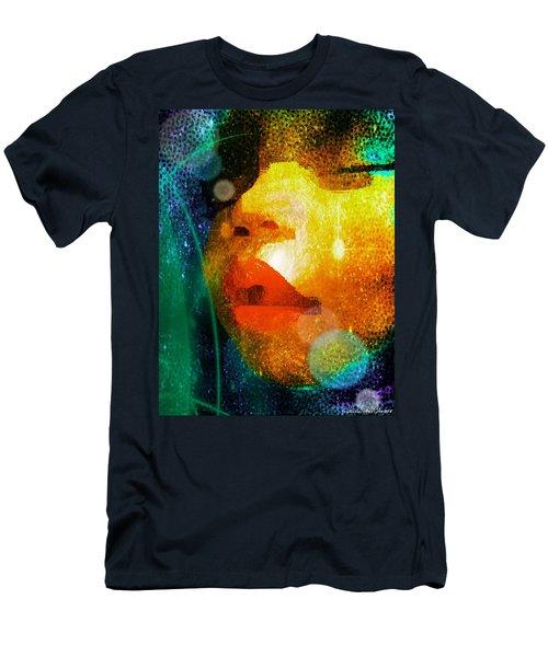 Placid Men's T-Shirt (Slim Fit) by Iowan Stone-Flowers