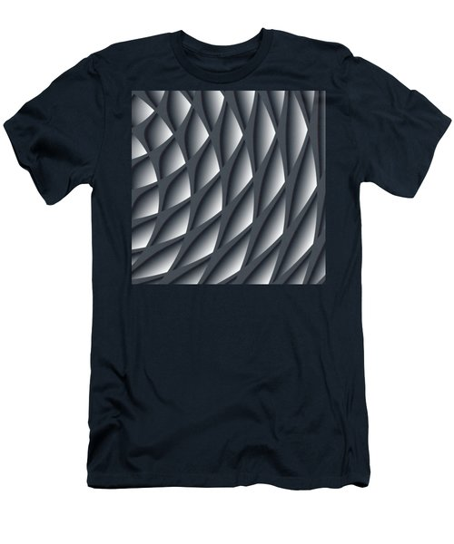 Points Abstract Colour Choice Men's T-Shirt (Slim Fit) by Barbara Moignard