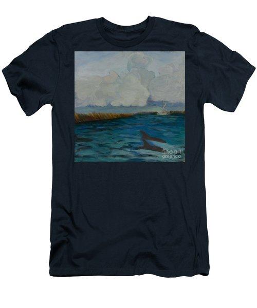 Pointe Aux  Chien Men's T-Shirt (Athletic Fit)
