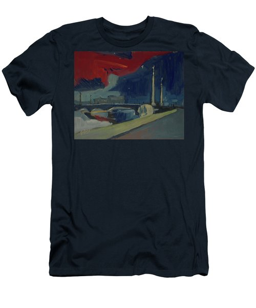 Pont Fragnee In Liege Men's T-Shirt (Athletic Fit)