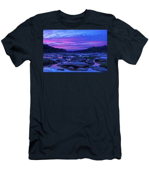 Pony Pasture Sunset Men's T-Shirt (Athletic Fit)