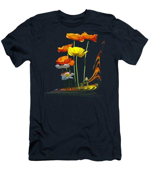 Poppy Pirouette Men's T-Shirt (Athletic Fit)