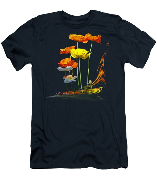 Poppy Pirouette Men's T-Shirt (Athletic Fit)