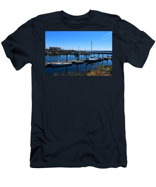 Port Townsend Marina  Men's T-Shirt (Athletic Fit)