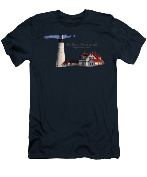 Portland Head Light No. 43 Men's T-Shirt (Athletic Fit)