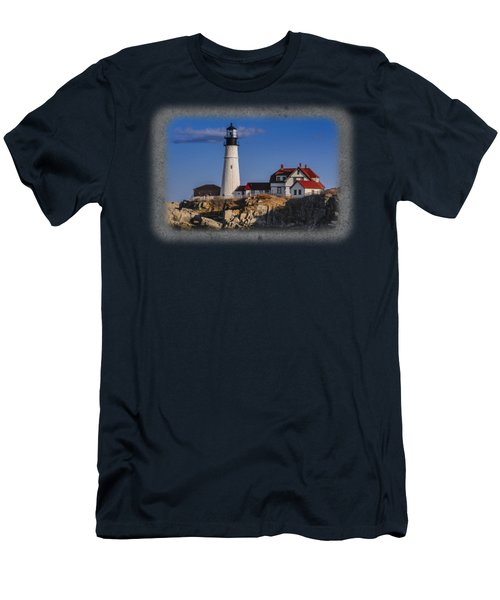 Portland Head Light No. 44 Men's T-Shirt (Athletic Fit)