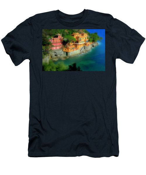 Portofino Park Bay Men's T-Shirt (Athletic Fit)