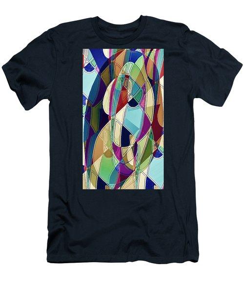 Portrait Of A Friend Men's T-Shirt (Athletic Fit)