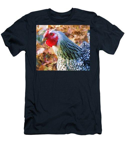 Portrait Of Rosie Men's T-Shirt (Athletic Fit)