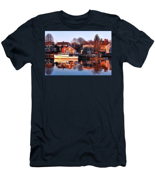 Portsmouth South End Sunrise Men's T-Shirt (Athletic Fit)