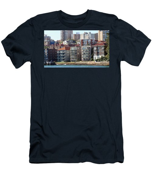 Men's T-Shirt (Slim Fit) featuring the photograph Posh Burbs by Stephen Mitchell