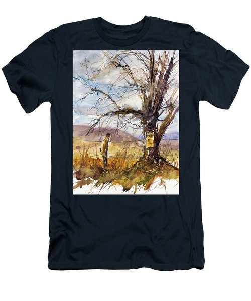 Posted Men's T-Shirt (Slim Fit) by Judith Levins