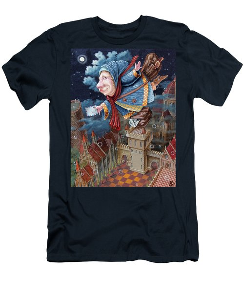 Postwoman Men's T-Shirt (Athletic Fit)