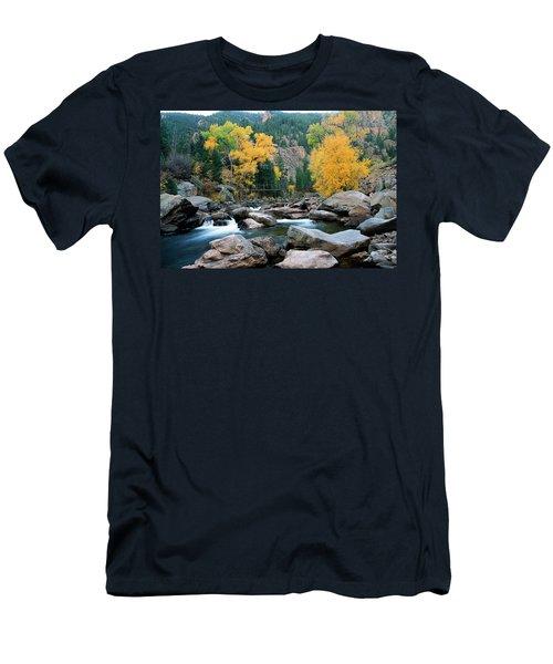Poudre Gold Men's T-Shirt (Athletic Fit)