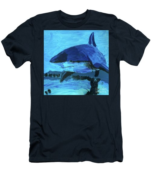 Men's T-Shirt (Athletic Fit) featuring the painting Predator by Donald J Ryker III