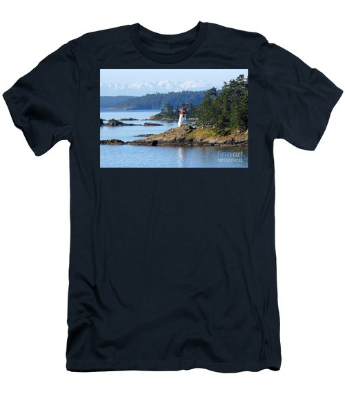 Prevost Island Lighthouse Men's T-Shirt (Athletic Fit)