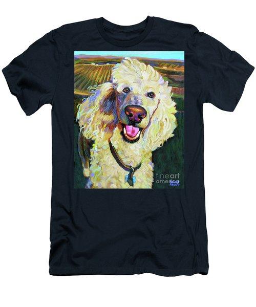 Princely Poodle Men's T-Shirt (Athletic Fit)
