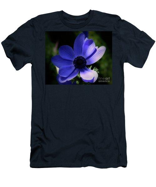 Purple Anemone Men's T-Shirt (Slim Fit)