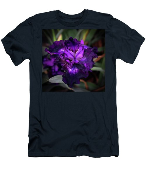 Purple Iris 5994 H_2 Men's T-Shirt (Athletic Fit)