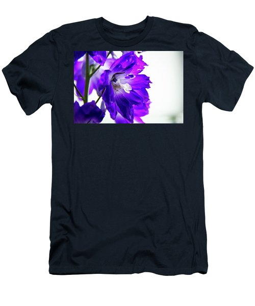Purpled Men's T-Shirt (Slim Fit) by David Sutton