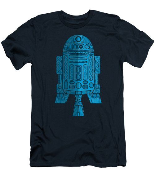 R2d2 - Star Wars Art - Blue 2 Men's T-Shirt (Athletic Fit)