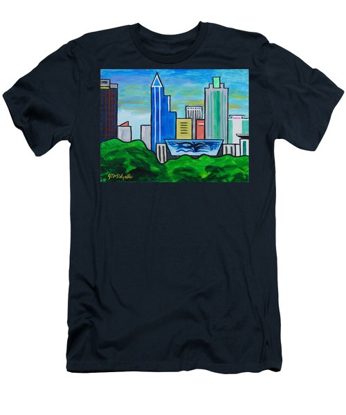 Raleigh Skyline 3 Men's T-Shirt (Athletic Fit)