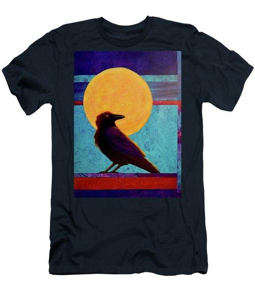 Raven Moon Men's T-Shirt (Athletic Fit)